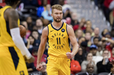 Domantas Sabonis has worked for this