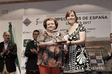 Sabrina Vega, campeona de España absoluta