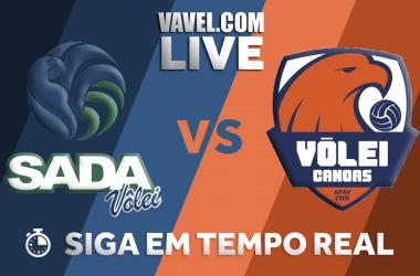 Resultado Sada Cruzeiro x Canoas pelas quartas de final da Superliga Masculina (3-0)