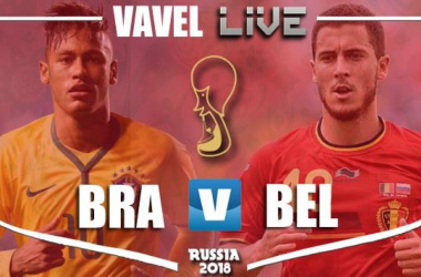 Resumen Brasil 1-2 Bélgica en Mundial de Rusia 2018