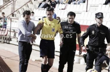 Sagués Oscoz arbitrará el primer encuentro del Sporting