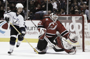 Brodeur y St. Louis fueron contemporáneos. NHL.com.