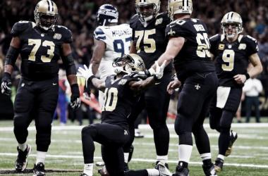 Saints derrota Seahawks de virada e conquista terceira vitória na temporada