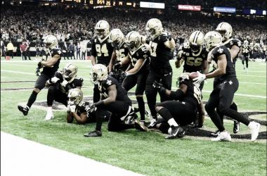 Saints terminan con el invicto de Rams