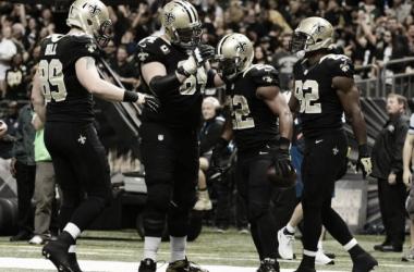 Contundente triunfo de los Saints ante los Packers