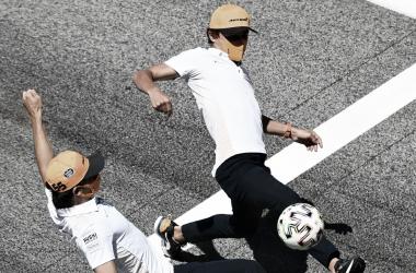 Fórmula 1 ou futebol?