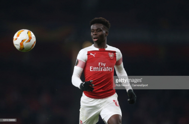 Bukayo Saka is expected to feature for Arsenal. | Source: Rob Newell - Camera Sport