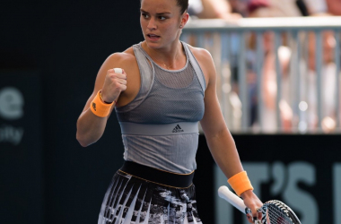 Maria Sakkari alcanzó el top 20y promete lucha
