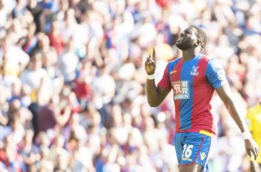 Sako, en un partido con el Crystal Palace. Foto: BBC