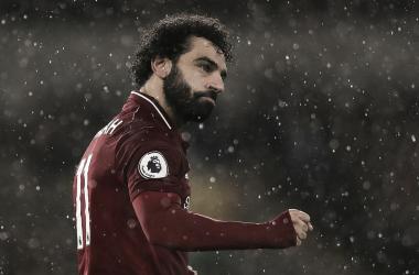 Salah deixou o dele no confronto (Reprodução /Liverpool)