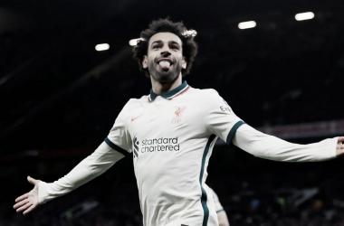 Salah tuvo su mejor noche en Old Trafford | Foto: Premier League