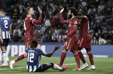 Salah puso el 1-0. Foto: Champions League.
