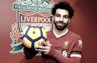 """Henderson: """"Salah hace lo más difícil,poner el balón en la red"""""""