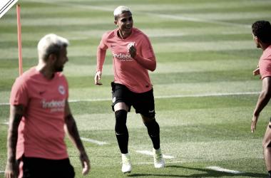 Carlos Salcedo jugará su segunda temporada con el club I Foto: Eintracht.de