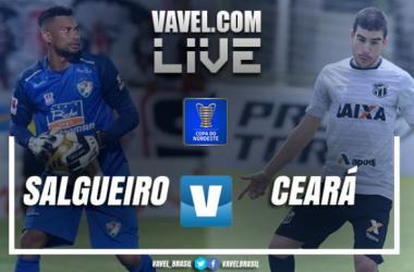 Resultado Salgueiro x Ceará pela Copa do Nordeste 2018 (0-2)