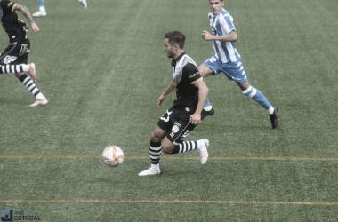 José Salinas, autor del primer gol. Foto: José Luis Cotobal