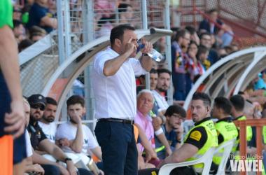 """José María Salmerón: """"Estamos intentando ser un equipo competitivo"""""""
