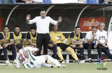 """José María Salmerón: """"Tenemos ganas de la primera victoria"""""""