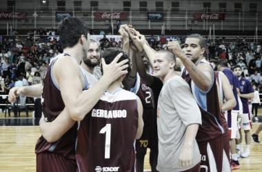 Gerbaudo, hombre clave para una victoria trabajada de Salta Basket sobre Quimsia. Foto: La Liga Contenido Movistar