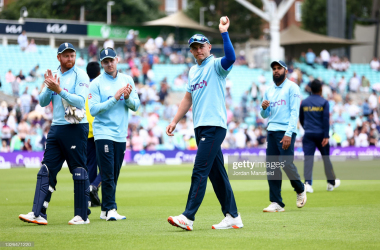 Sam Curran took his first five wicket haul for England in the match | Photo by Jordan Mansfield via Getty Images