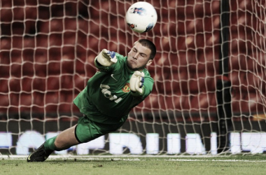 Sam Johnstone playing for Manchester United u-21 (Photo: Premier League)