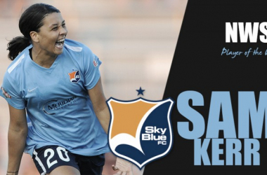 Sam Kerr has been named NWSL Player of the Week