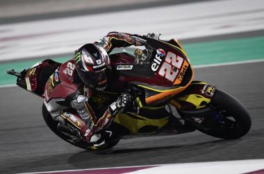 Sam Lowes en el Gran Premio Tissot de Doha