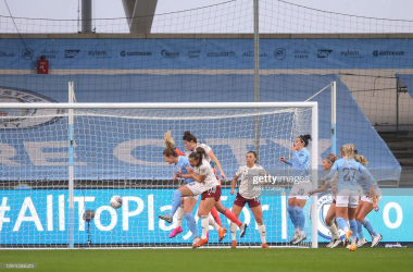 Manchester City Women 2-1 Arsenal: Last-minute Weir goal earns City victory