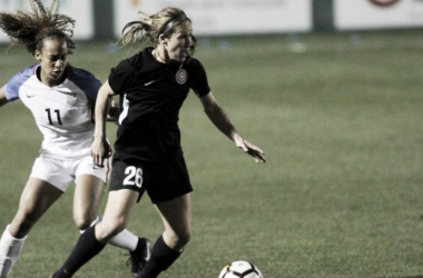 The Portland Thorns face the U-23 USWNT | Source: Sam Ortega - Portland Thorns