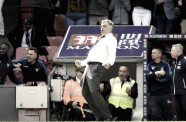 Sam Allardyce, feliz por la salvación del Crystal Palace