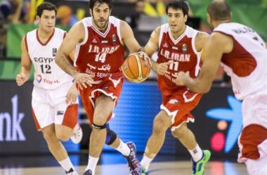 Samad Nikkhah Bahrami led all scorers with 24 points (FIBA.com)
