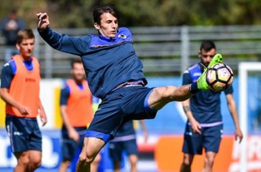 Sampdoria, ripresa mattutina a Bogliasco