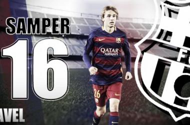 Anuario VAVEL FC Barcelona 2016: Sergi Samper, buscar la consolidación exacta