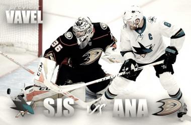 Anaheim Ducksvs San Jose Sharks playoff preview (Photomontage: Vavel)