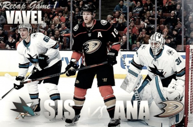 San Jose Sharks dominate Anaheim Ducks in Game 1 (Photomontage Vavel)
