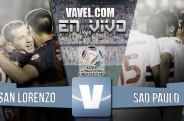 Resultado San Lorenzo - Sao Paulo por la Copa Libertadores 2015 (1-0)