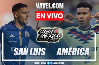 Gol y resumen del Atlético de San Luis 0-1 América en Liga MX 2021