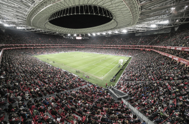 San Mamés lució sus mejores galas para disfrutar de la Copa de la Reina | Foto: Athletic Club