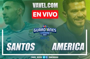 Goles y resumen: Santos 1-1 América en Liga MX Guardianes 2021