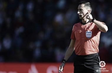 Sánchez Martínez en el partido ante el Celta en Zorrilla | LaLiga