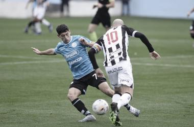 Ulises Sánchez fue el que mas aportó en un deslucido Belgrano. Fuente: (La Voz)