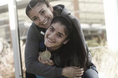 Las hermanas Sánchez, las máximas exponentes del boxeo amateur femenino a nivel nacional (Foto:: Pedro Castillo | Mundo D)