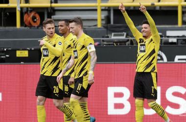 El Dortmund consiguió 3 puntos de oro / foto: @BVB