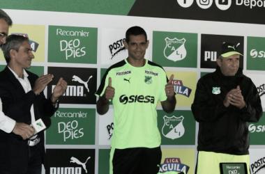 José Sand, jugador del Deportivo Cali / Archivo Vavel.