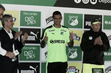 José Sand, delantero del Deportivo Cali / Vavel