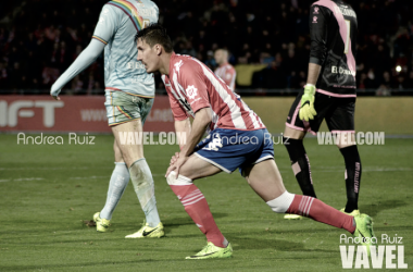Sandazaen el partido frente al Rayo Vallecano donde se tuvo que retirar lesionado. Foto: Andrea Ruiz (VAVEL)