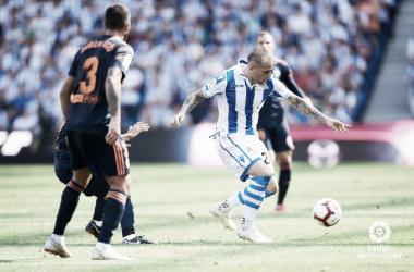 Sandro puede ayudar en la faceta goleadora en San Mamés. Foto: La Liga