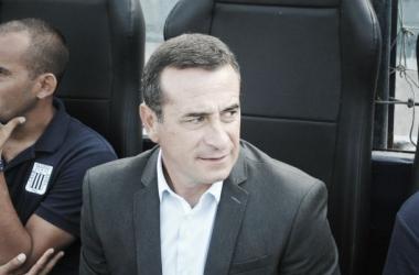 Guillermo Sanguinetti es D.T de Alianza Lima desde 2014. (Foto: Raúl Chávarry Vásquez)