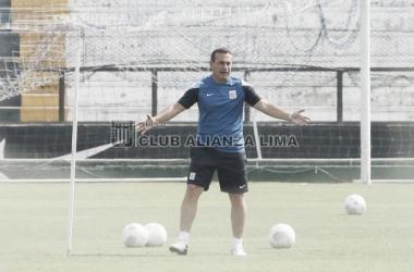 Guillermo Sanguinetti busca su segunda final del Torneo del Inca con Alianza. (Foto: Facebook: Club Alianza Lima)