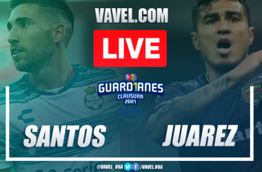 Highlights and Goals of Santos 3-2 Juarez on Guad1anes 2021 Matchday 8